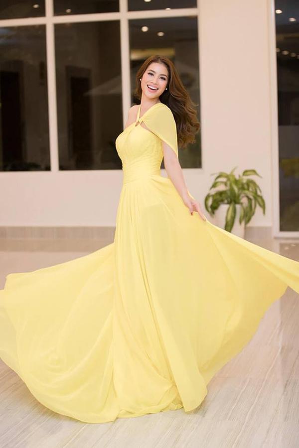 Sao Việt hâm nóng mốt váy đẹp như cổ tích - 1