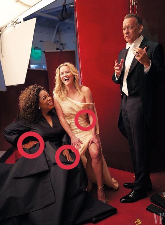 Reese Witherspoon mọc thêm chân trên bìa tạp chí - 1