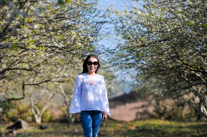 Hoa đào, hoa mận Mộc Châu nở rực rỡ khắp thung lũng - 9