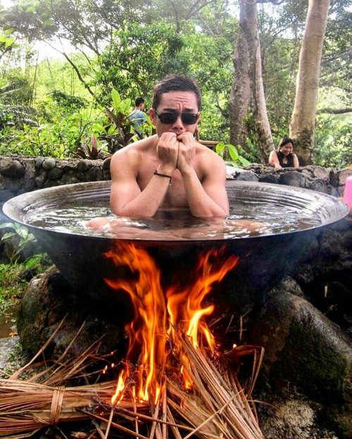 Bí mật của chảo tắm vạc dầu ở Philippines - 1