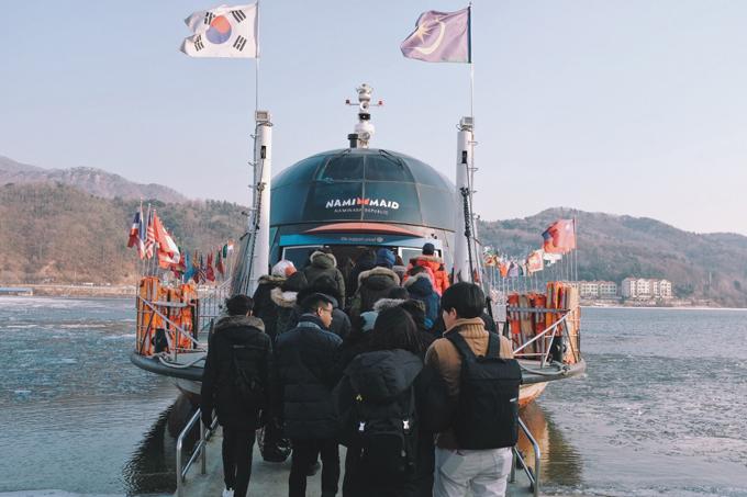 Bộ ảnh Hàn Quốc mùa đông làm xao xuyến chàng trai Việt