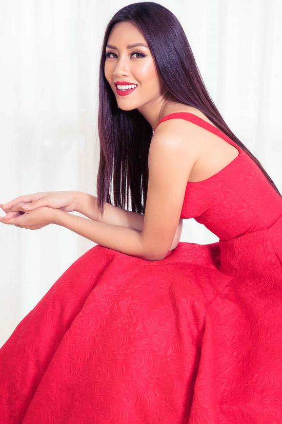 Hhen Niê và dàn người đẹp đọ sắc bên Hoa hậu Hoàn vũ Dayana Mendoza - 6