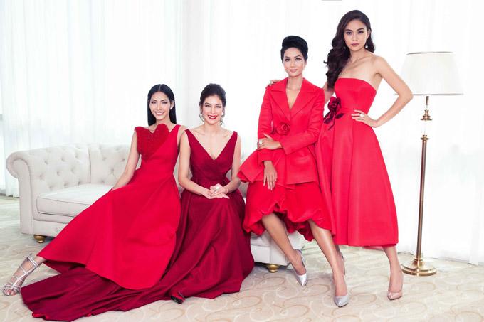 Hhen Niê và dàn người đẹp đọ sắc bên Hoa hậu Hoàn vũ Dayana Mendoza
