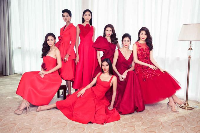 Hhen Niê và dàn người đẹp đọ sắc bên Hoa hậu Hoàn vũ Dayana Mendoza - 1