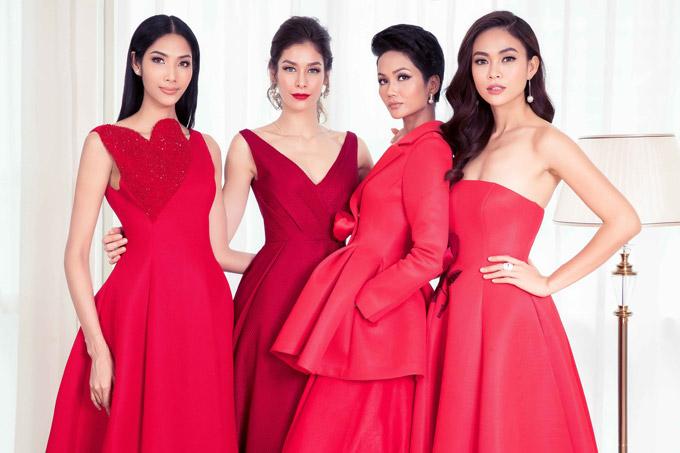 Hhen Niê và dàn người đẹp đọ sắc bên Hoa hậu Hoàn vũ Dayana Mendoza - 8