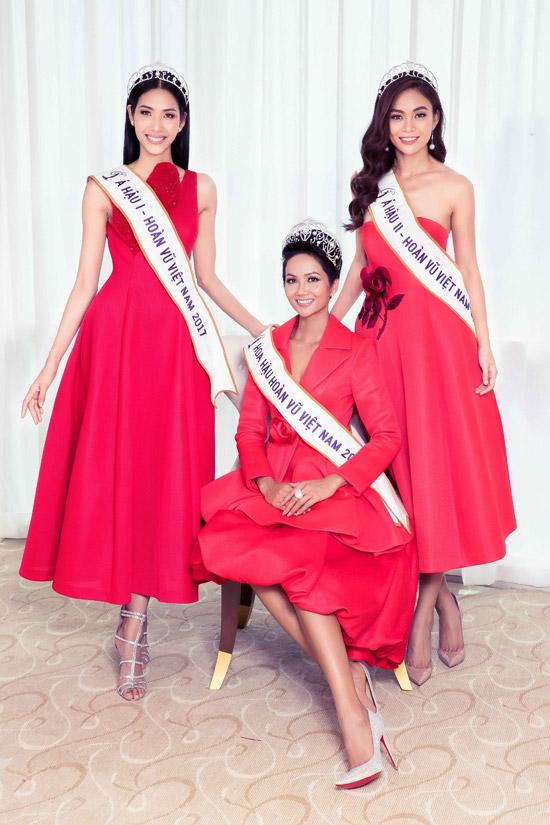 Hhen Niê và dàn người đẹp đọ sắc bên Hoa hậu Hoàn vũ Dayana Mendoza - 11