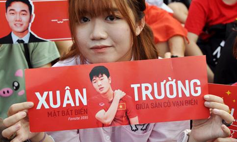Các kiểu băng rôn chào mừng U23 Việt Nam