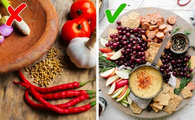 9. Hạn chế thực phẩm cay nóng, giàu axit Thực phẩm giàu axit và có tính cay nóng sẽ làm mất lớp bảo vệ tự nhiên trên môi, khiến môi khô nẻ hơn. Nên bổ sung các thực phẩm giàu vitamin như hoa quả, rau xanh.