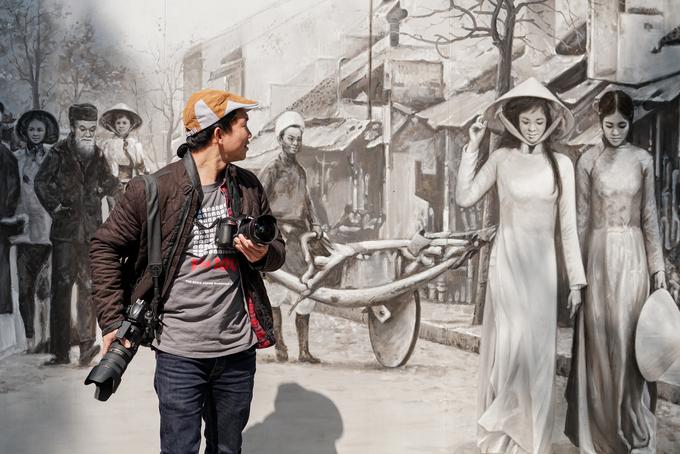 Phố bích hoạ Phùng Hưng - điểm hẹn mới cho dịp Tết ở thủ đô