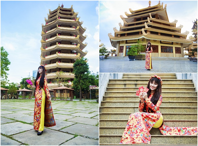 4 ngôi chùa đẹp thích hợp chụp ảnh áo dài Tết ở Sài Gòn - 3