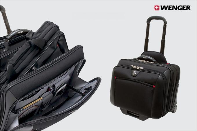 Dòng cặp kéo doanh nhân POTOMAC thương hiệu Wenger (Thụy Sĩ) có thiết kế tối ưu, nhiều ngăn chứa tiện dụng phù hợp cho những chuyến công tác ngắn ngày.