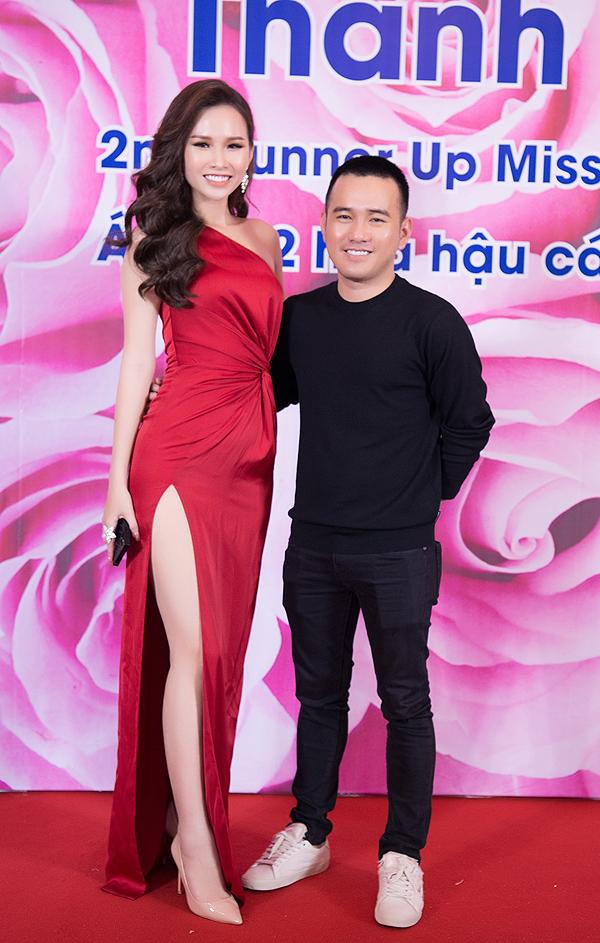 Lại Thanh Hương mặc hở đi tiệc sau ồn ào diễn bikini đón tuyển U23 - ảnh 7