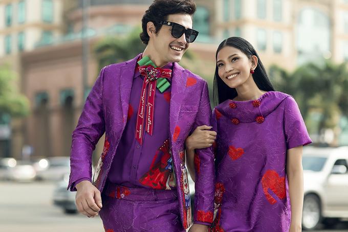 Bộ ảnhđược thực hiện dưới sự hỗ trợ của giám đốc sáng tạo Nguyễn Hoàng Anh, nhiếp ảnh Chanh, người mẫu TrươngThị May, Eduard Kazanov, trang điểm Tùng châu.