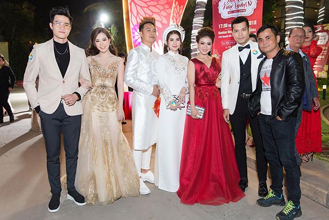 Một số nghệ sĩ cũng có mặt tại sự kiện như Minh Anh, Vũ Ngọc Ánh, Thanh Duy, Kha Ly, Nguyễn Hải Yến, Trương Thế Vinh.