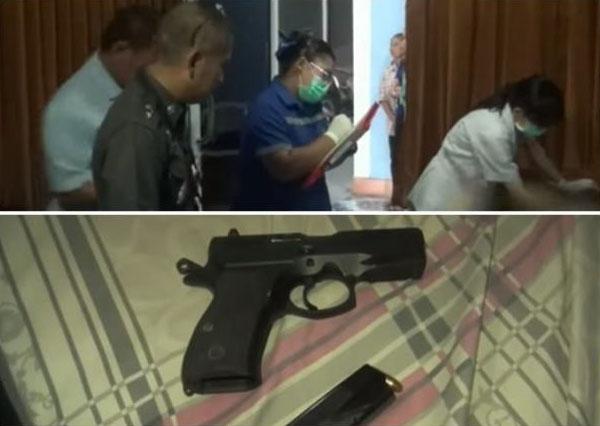 Cảnh sát tìm thấy thi thể của Jirawut trong phòng ngủ với khẩu súng và một bức thư tuyệt mệnh.