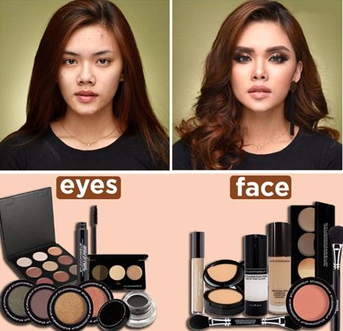 Chỉ với một vài dụng cụ makeup, diện mạo của bạn đã trở nên quyến rũ không ngờ