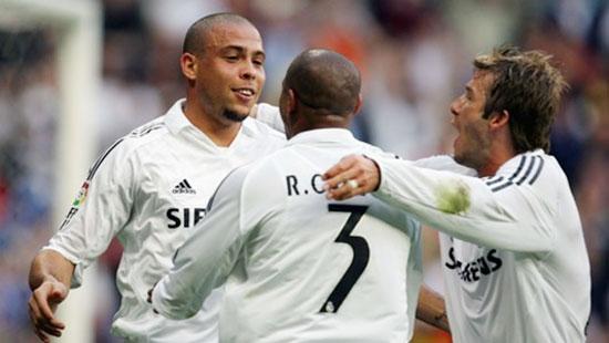 Ro Béo, Roberto Carlos và Becks