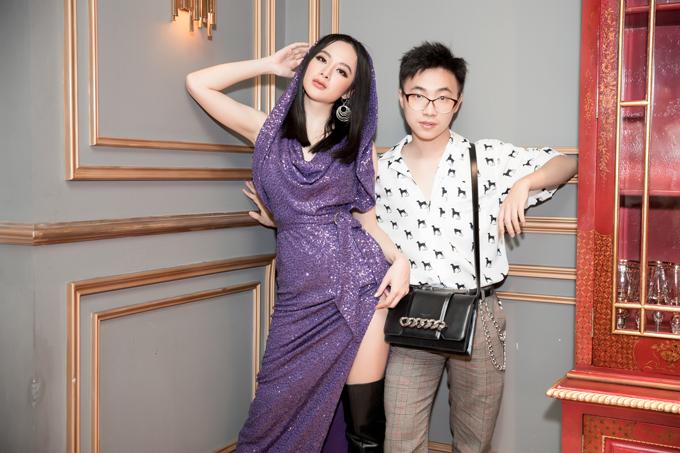Chuyên gia trang điểm Hiwon, người luôn đồng hành và hỗ trợ nữ diễn viên 9X về make-up trong mỗi lần xuất hiện.