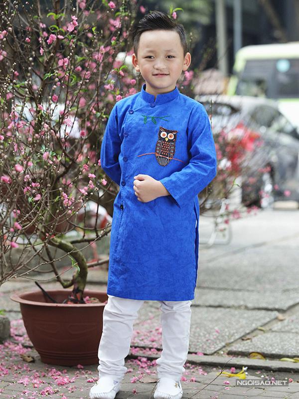 Mẫu nhí diện áo dài rạng rỡ trong vườn hoa xuân - ảnh 7