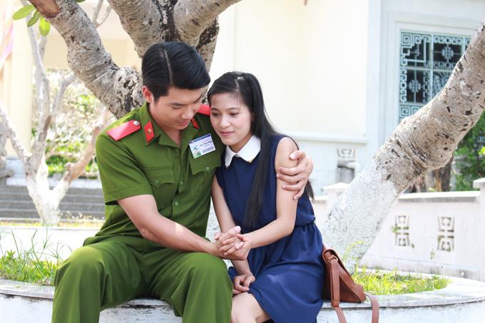 Trương Nam Thành và Nhung Kate trong phim Đánh tráo số phận.