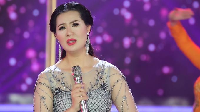 Hình ảnh của Triệu Trang trong album Đón xuân vừa ra mắt.