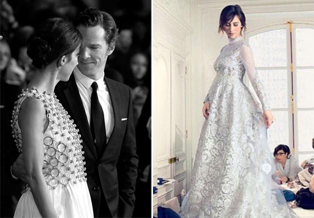 Valentine 2015, tài tử Sherlock Holmes kết hôn với nữ đạo diễn sân khấu Sophie Hunter tại đảo Wight ở Anh. Khi đó, cô dâu đang mang bầu con đầu lòng của họ. Lễ cưới ấm cúng và giản dị, với sự góp mặt của một số bạn bè thân thiết như nữ diễn viên Keira Knightley, tài tử Tom Hiddleston...