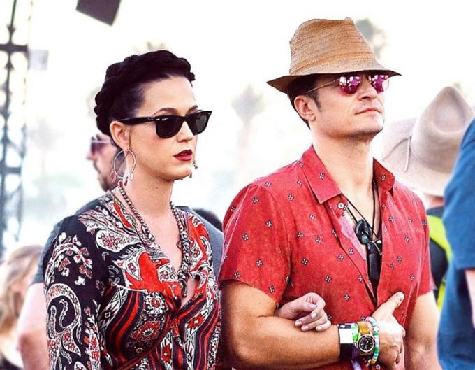 Katy và Orlando.