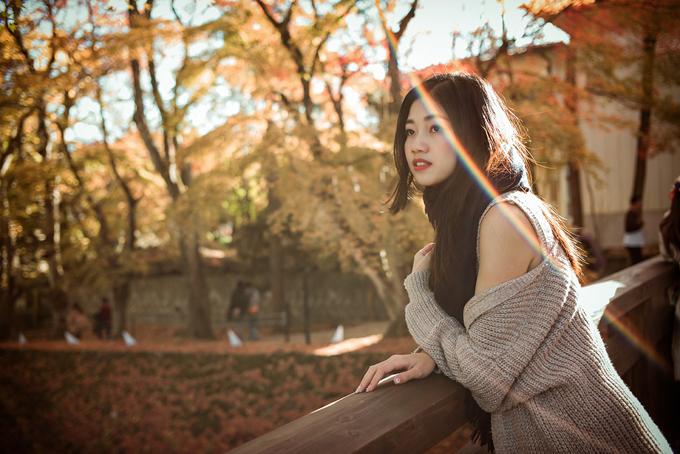 Á hậu cao nhất Việt Nam trễ nải vai trần ở Nhật Bản - ảnh 3