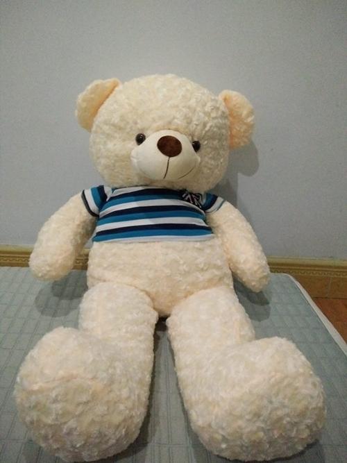 Một chú gấu bông và chiếc quần bò là món quà Valentine chị Bùi Hương nhận được.