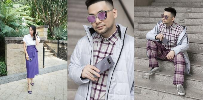 Mix đồ thời thượng cùng sắc tím như các fashionista Việt - ảnh 3