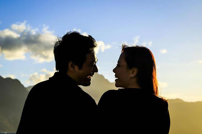 MC Phan Anh khoe khoảnh khắc âu yếm vợ trong ngày Valentine - 6