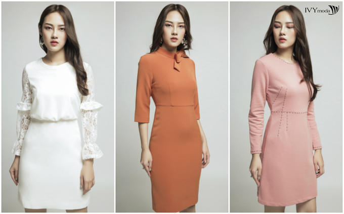 Những thiết kế đầm với sắc màu ngọt ngào cho mùa mới tinh khôi.