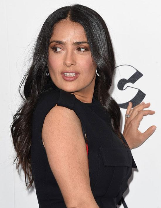 Tại lễ trao giải Film Independent Spirit Awards 2018, Salma được đề cử Nữ diễn viên chính xuất sắc cho vai diễn trong phim Beatriz at Dinner.