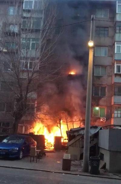 Một trong những vụ hỏa hoạn do Giang gây ra.