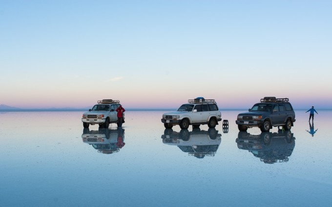 Salar de Uyuni - \'Mặt gương muối\' lớn nhất thế giới ở Bolivia