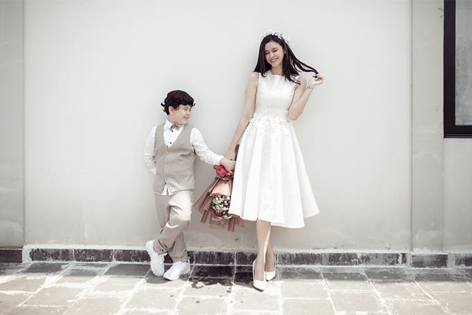 Đời thường đáng yêu của mẹ con Trương Quỳnh Anh - 11