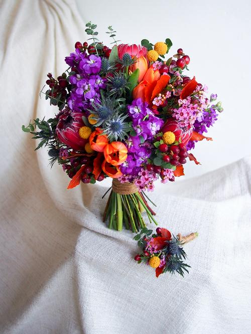 Hoa cưới 2018: Chọn màu sắc theo con giáp tăng thêm may mắn (Phần 2) - 5