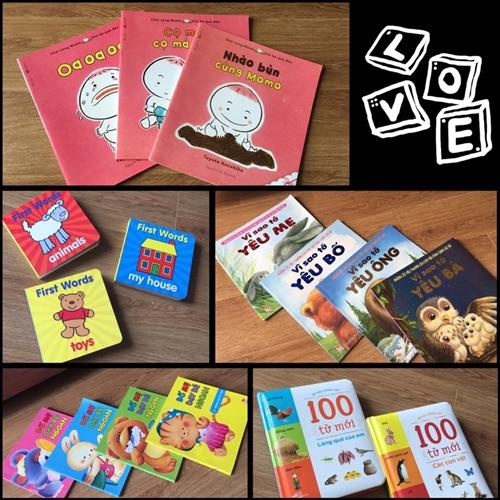 Những cuốn sách bà mẹ 9X chọn cho bé Mint.