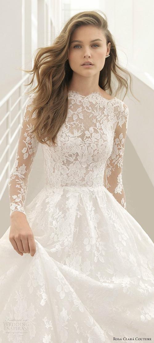 Xu hướng váy cưới 2018: Ngọt ngào và lãng mạn (Phần 1) - 1