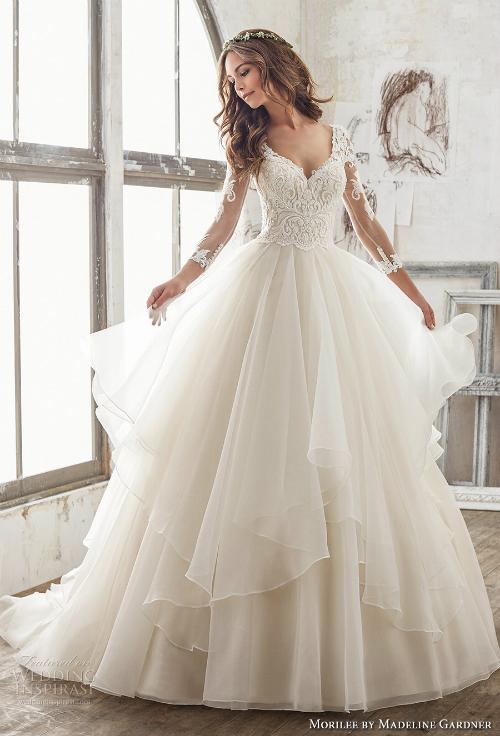 Xu hướng váy cưới 2018: Ngọt ngào và lãng mạn (Phần 1) - 3