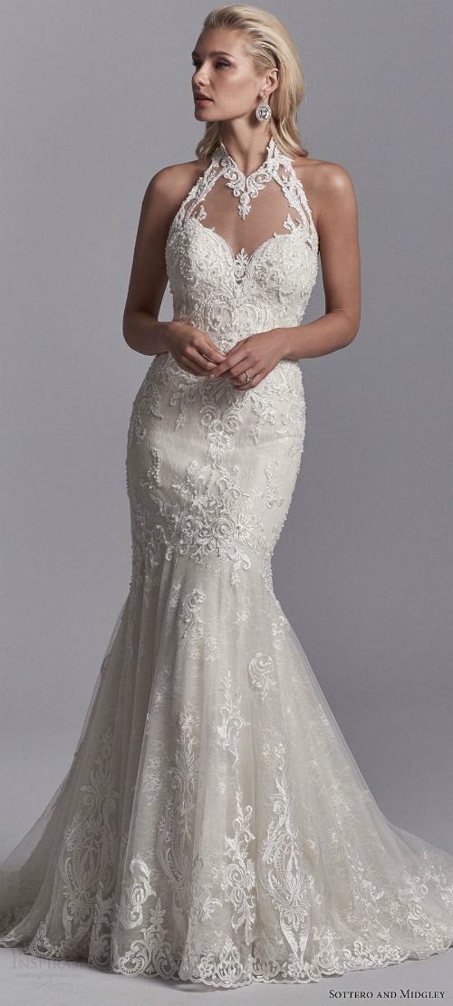 Xu hướng váy cưới 2018: Ngọt ngào và lãng mạn (Phần 1) - 7