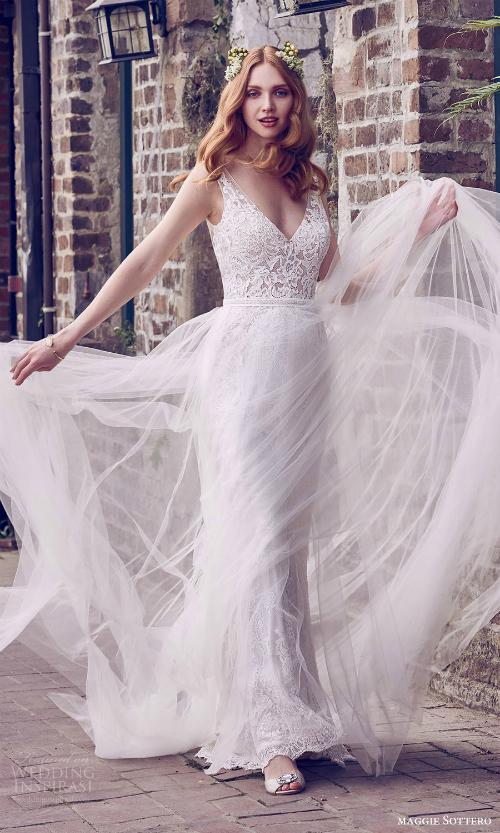 Xu hướng váy cưới 2018: Ngọt ngào và lãng mạn (Phần 1) - 8