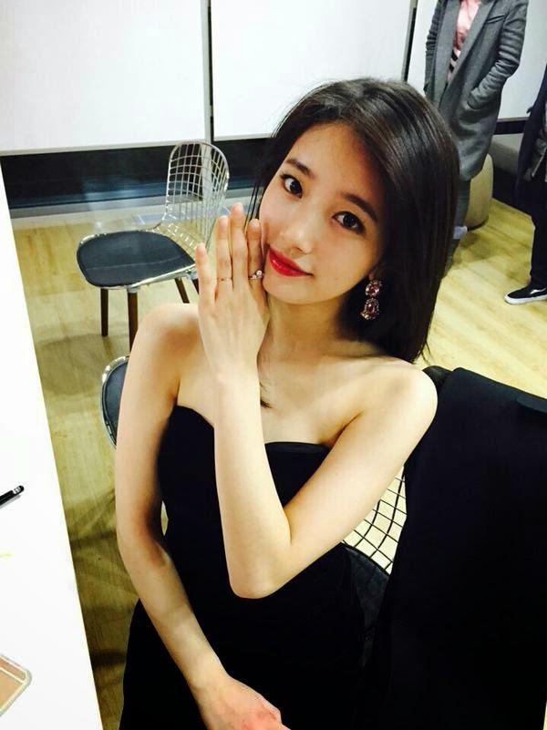 Trong chương trình truyền hình Get it Beauty, Suzy giới thiệu bài tập Chim cánh cụt giúp làm giảm mỡ thừa vùng bắp tay.