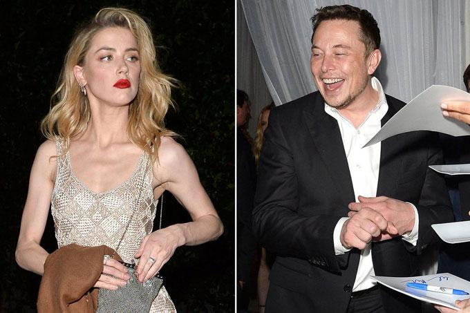Amber rời bữa tiệc - nơi cô chạm mặt với tình cũ Elon Musk - và một mình tới buổi hẹn với Sean Penn ở khách sạn.