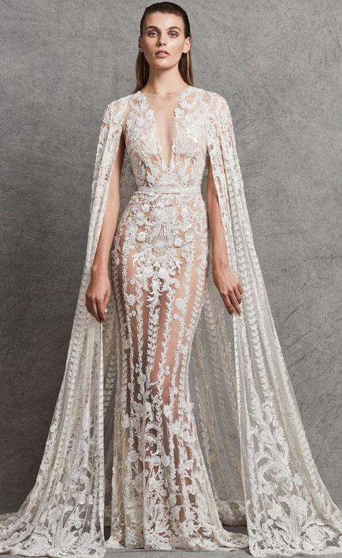Váy cưới 2018: Khúc biến tấu của phần cổ và họa tiết trang trí (Phần 2) - 12