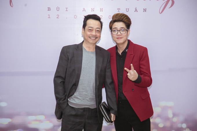 NSND Hoàng Dũng tham gia diễn xuất trong MV của Bùi Anh Tuấn.