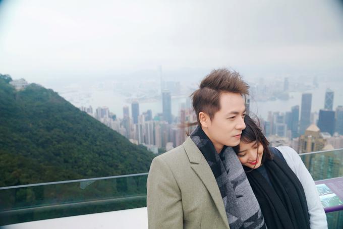 Đăng Khôi tình cảm với em gái mưa Thanh Vy ở Hong Kong - 5