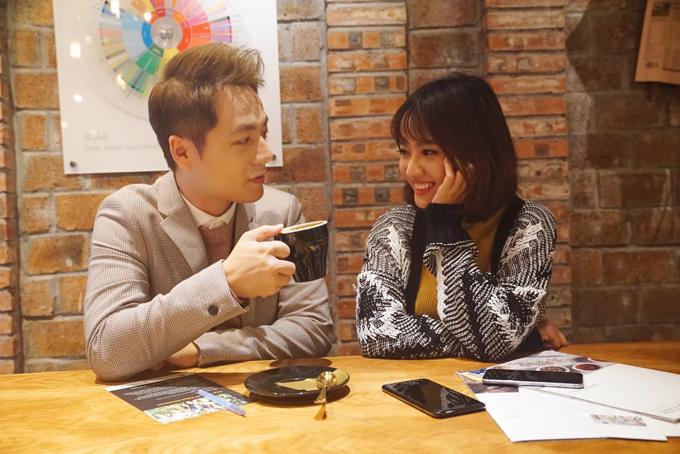 Đăng Khôi tình cảm với em gái mưa Thanh Vy ở Hong Kong - 6