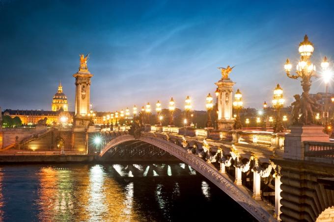 Kinh đô Ánh Sáng Paris diệu kỳ.
