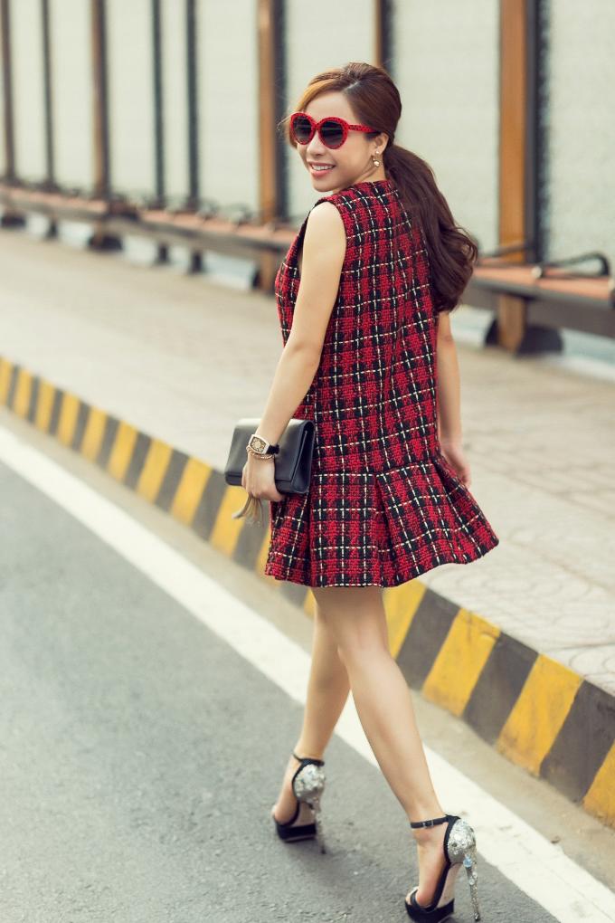 Á khôi Mai Diệu Linh khoe street style trẻ trung, cuốn hút - 10